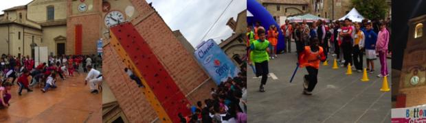 500 bambini hanno inaugurato Bettona in Shape