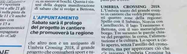 Nasce Umbria Crossing 2018: Circuito Trail ed UltraTrail nel cuore dell'Umbria. Solo Aria pulita, boschi e sentieri.