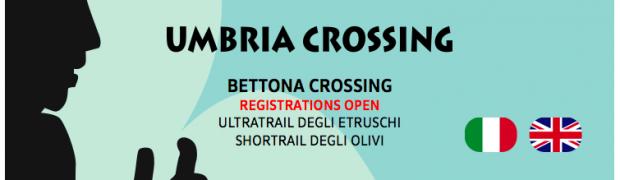 Bettona Crossing: Iscrizioni aperte Registrations open