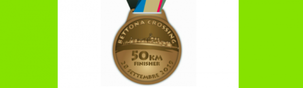 Bettona Crossing Finisher: ecco le medaglie 2019